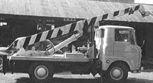 B型建柱車